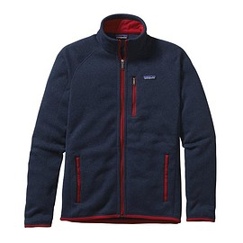 patagonia - Men\'s Better Sweater Jacket - Classic Navy w\/Totally Red CTYR