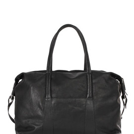 Maison Martin Margiela 11 - Leather Boston Bag:MAISON MARTIN MARGIELA