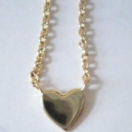 Sugar Bean Jewelry - Sugar Bean Jewelry ( シュガービーンジュエリー )   Tailored heart necklace Y  かわいい ^^/ ハート ネックレス Y