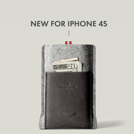 hard graft - Pocket Phone Case / All Grey