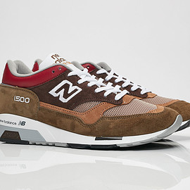 New Balance - M1500BGG - Brown/Red