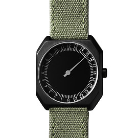 Slow Watch - Olive green canv