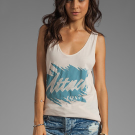 ONE TEASPOON - Attack Vintage Tank in Tan