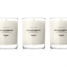 Baxter of California - Win a Baxter of California White Wood Candle Set!