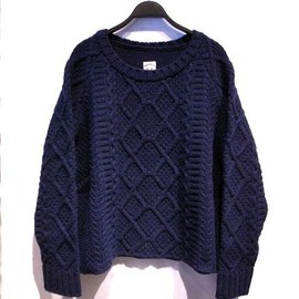 SUN SEA - Fisherman sweater
