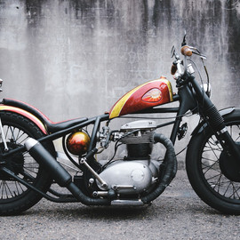 138 Cycles - 1965 BSA A65 Lightning 'The Angry Wasp'