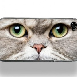 LA発iPhoneケース☆ZERO GRAVITY☆ meow face-iphone4 1