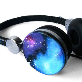 ketchupize - Space Galaxy Nebula Custom headphones