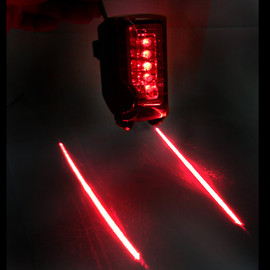 SLANCIO - Bike Bicycle Laser Beam Rear Tail Light