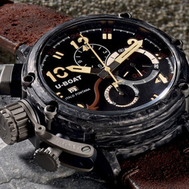 U-BOAT - Chimera Carbonio Chronograph Watch