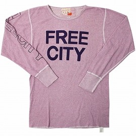 FREECITY - L/S thermal top / PINK CLAY