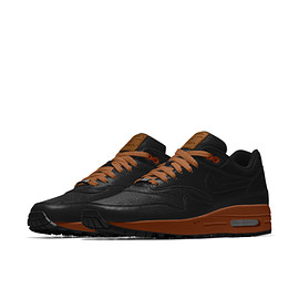 Nike iD - Air Max 1 Premium (Will Leather Goods) iD - Baroque Brown/Black/Baroque Brown