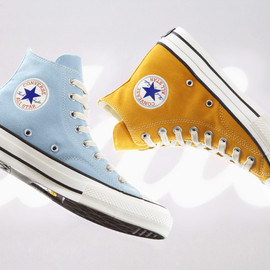 CONVERS ADDICT - CHUCK TAYLOR CANVAS HI SAX & GOLD