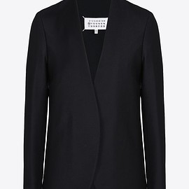 Maison Margiela - Collarless Virgin Wool Jacket