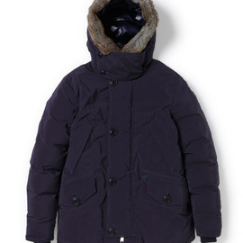nonnative - EXPLORER HOODED DOWN JACKET - P/N TWILL