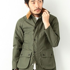 Barbour - Barbour × BEAMS PLUS  別注 ハイテクノロジー Bedale SL オリーブ