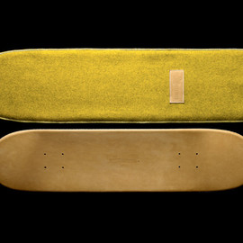 Greg Hervieux x Domeau & Pérès Leather Skate Deck - Greg Hervieux x Domeau & Pérès Leather Skate Deck