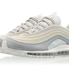 nike - AIR MAX 97 PREMIUM Light Pumice/Summit White-Summit White