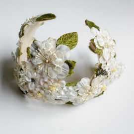 SalvatoCollection - Pretty Bridal Headpiece Wedding Trousseau