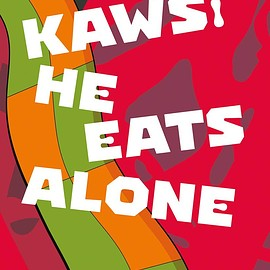 KAWS - He Eats Alone