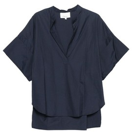 3.1 Phillip Lim - oversized collarless shirt with rolled cuffs