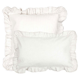 zara home - Linen Cushion with Frill