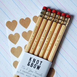 KNOT & BOW - Me & You Pencils