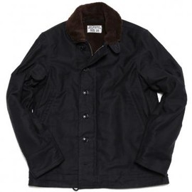 THE REAL McCOY'S - N-1 DECK JACKET (NAVY)