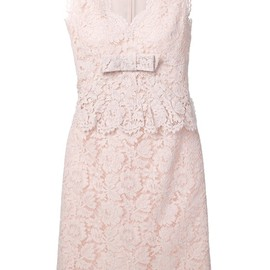 VALENTINO - sleeveless lace dress