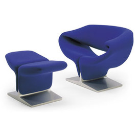 Pierre Paulin - Ribbon Chair & Ottoman