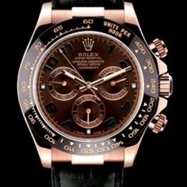 rolex - rose gold  chrono