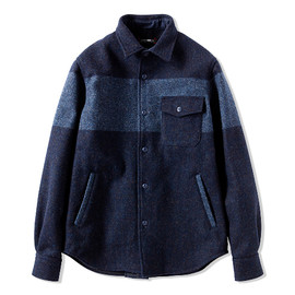 CASH CA - CPO MELTON SHIRT JACKET
