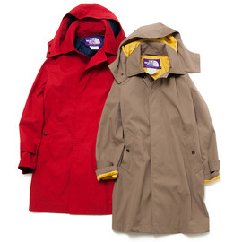 THE NORTH FACE PURPLE LABEL - <THE NORTH FACE PURPLE LABEL×BEAMS> Mountain Soutien Collar Coat