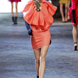 LANVIN COLLECTION - Coral dress
