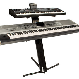 Ultimate Support - AX-48 PRO Two-tier portable keyboard stand