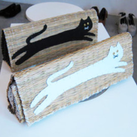 I am I - NEKO clutch bag