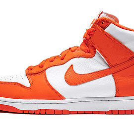 NIKE - Dunk High Pro SP - White/Orange Blaze