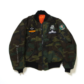 Alpha Industries - MA-1 (Woodland Camouflage) Customized by Tycoon Tosh