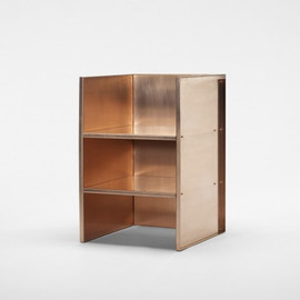 Donald Judd - copper armchair