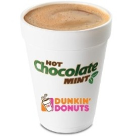 Dunkin' Donuts - Mint Hot Chocolate
