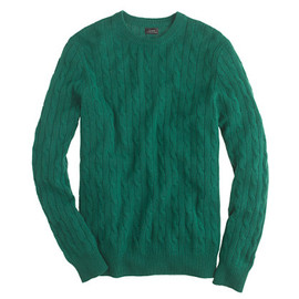 J.CREW - Cashmere cable sweater