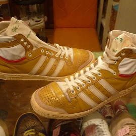"adidas - 「<used>80's adidas SKYWALKER yellow""made in FRANCE"" size:GB9(27.5cm) 59800yen」完売"