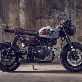 HONDA - Custom Monkey Z125 by Bunker