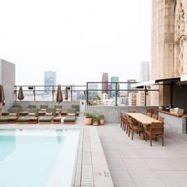 Los Angeles - Pool at Ace Hotel