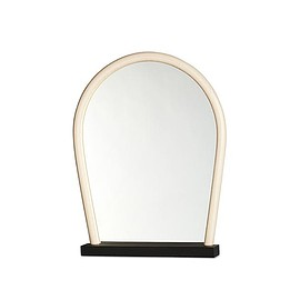 WH Wrong for HAY - BENT WOOD MIRROR