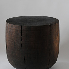 George Peterson - stool/Walnut Black Stain