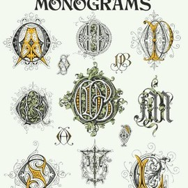 Karl Klimsch - 2,100 Victorian Monograms (Lettering, Calligraphy, Typography)