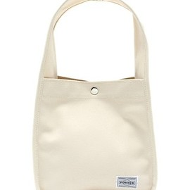 PORTER×B印YOSHIDA - THUMB BAG SOLID SMALL / white