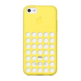 Apple - iPhone 5c Case Yellow