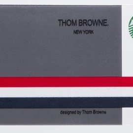 Thom Browne Men's Long Flat Knit Tie in pink / white / green